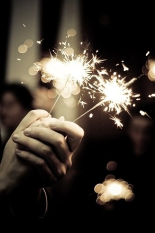 sparklers NYE